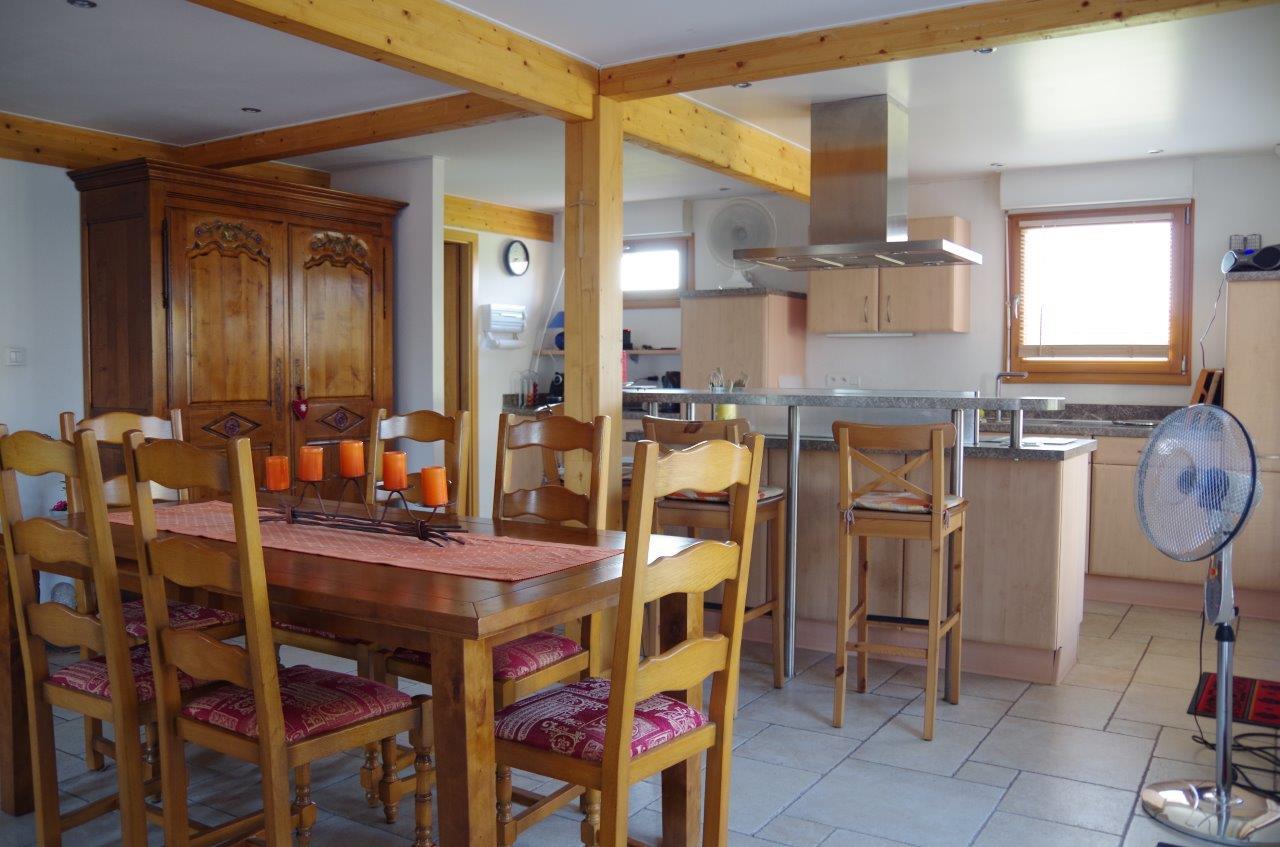 Salle a manger et cuisine immobili re du bas rhin for Salle a manger et cuisine