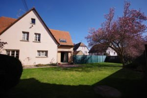 Vue maison depuis jardin - 737 - Vendenheim